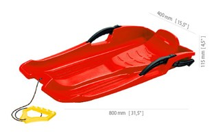 sanke-prosperplast-hornet-crvena