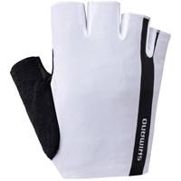 rukavice-shimano-classic-short-finger-white-ss18-l