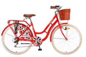 bicikl-polar-grazia-26-6-brzina-red