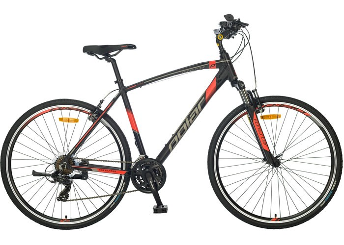 bicikl-polar-forester-comp-black-red-xl