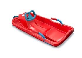 sanke-plastkon-skibob-red